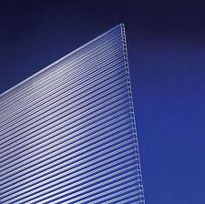 (9,95 € / m²) Universal Stegplatten 4,5 mm klar für Gewächshäuser 150 x 70 cm