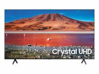 "SAMSUNG 55"" Class 4K Crystal UHD (2160P) LED Smart TV with HDR UN55TU7000 2020"
