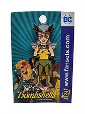 Dc Comics Bombshells Hawkgirl Metal Enamel Pin Adult Collectible Fansets New