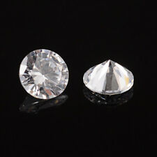 Clear Diamond Shaped Cubic Zirconia Cabochons Faceted DIY Jewelry Embellishments