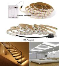 5V USB Battery LED Strip 5050 LED Light Flexible For TV Background Lighting 1-5M