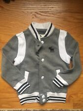 Abercrombie Kids Size 3/4 Sweatshirt With Snaps New With Tags