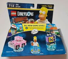 LEGO Dimensions THE SIMPSONS Springfield Adventure Level Pack 71202 98pcs