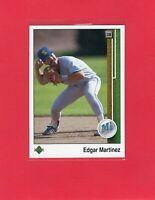1989 Upper Deck baseball #768  EDGAR MARTINEZ Seattle Mariners Hall of Fame