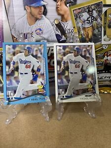 2014 Topps Opening Day Yasiel Puig X2 Blue Foil And Base ⚾️🔥LA Dodgers