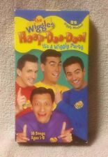 THE WIGGLES - HOOP-DEE-DOO! It's a Wiggly Party Vhs Video HIT Ent 16 Songs Music