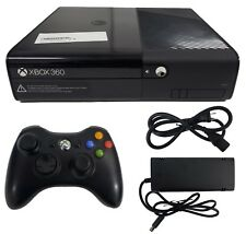 Microsoft Xbox 360 E Launch Edition 4GB Black Gaming Console + Controller (PAL)
