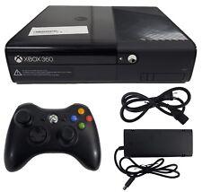 Microsoft Xbox 360 E Lancement Édition 250GB Noir 1538 Console de Jeu + Manette