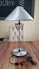 Vintage Beaded Aluminum Kovacs Lamp Made In USA