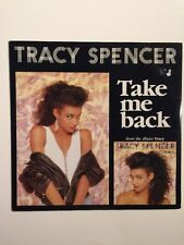 Tracy Spencer - Take Me Back (long version + UK Dance Mix - 12 Inch Vinyl Record