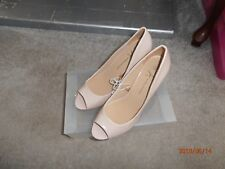 Atmosphere beige peep toe shoes - new - size 7 (41)