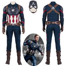Avengers Endgame Captain America Steve Rogers Cosplay Costume Version 1