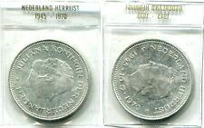 """10 Gulden Niederlande 1970 Silber """"25 Jahre Befreiung"""""""