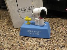 WILLITTS PEANUTS SNOOPY  MUSIC BOX BEAGLEFEST 1993