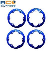 Hot Racing Axial XR10 Blue Aluminum Beadlock Rings AXR10R06