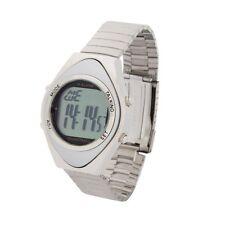 Sprechende Armbanduhr 4 Alarm-Zeiten Senioren Uhr Blindenuhr Wecker Edelstahl