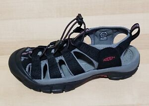 Womens KEEN NEWPORT H2 Sandals Size 7 Black Athletic Hiking Shoes