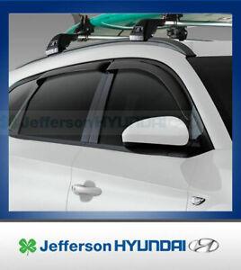 Hyundai Tucson Genuine Tinted Style Visors Weathershields Set Of 4 New