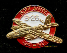 B-26 MARAUDER 50TH ANNIVERSARY HAT LAPEL PIN UP 1941-1991 US ARMY AIR CORPS WW