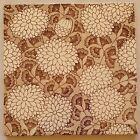 Arts   Crafts Floral Tile