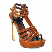 Delicious New Womens High Heels Strappy Sandals Shoes Stilettos Size5-11