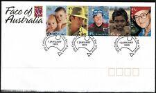 Australia 2000 Face Of Australia Fdc - Unaddressed - Mint 4