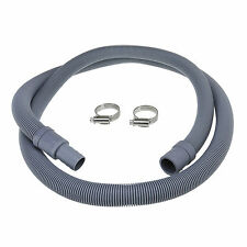 Universal Washing Machine Waste Drain Hose Extension Pipe Kit 1.5M & Hose Clips