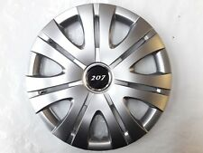 """15"""" WHEEL TRIMS TO FIT PEUGEOT 207 / SW / CC SET OF 4 HUBCAPS SUPERIOR QUALITY"""