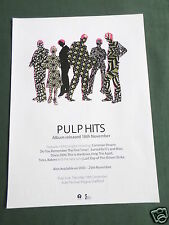 PULP - MAGAZINE CLIPPING / CUTTING- 1 PAGE ADVERT