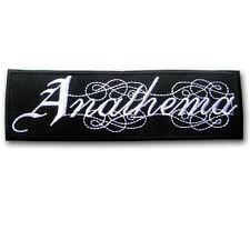 Anathema Patch Iron on British Rock Band Music Punk Badge Sew Tattoo Retro Easy