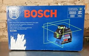 Bosch 200 ft. Green 360-Degree Laser Level Self Leveling with Visimax Tech - NEW