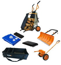 WG050 WORX Ultimate AeroCart Combo: (5) AeroCart accessories included!
