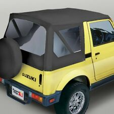 Soft Top Black Denim Clear Windows for Suzuki Samurai 53701.15 Rugged Ridge