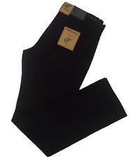 Pantalones pana  hombre de Forecast, negro,talla 46