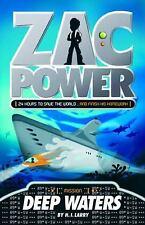 Zac Power #2: Deep Waters (Zac Power)-ExLibrary
