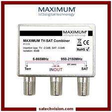 Coupleur / Découpleur TV & SAT Maximum Montage Intérieur & Extérieur