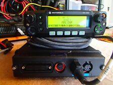 Motorola XTL2500 VHF 136-174 110 watt Remote Mnt P25 trunking ADP w/ accessories