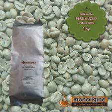 Caffè Verde in Grani Perù Cuzco 1 Kg - Caffè Arabica 100%