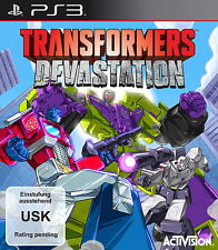 Transformers: Devastation (Sony PlayStation 3, 2015, DVD-Box) PS3 Video Game