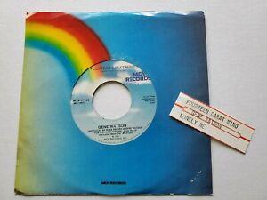 "GENE WATSON - Fourteen Carat Mind / Lonely Me 1981 COUNTRY 7"" mca"