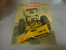 Vintage Full Servis Line Rhino 1400 Rotary Cutters,Scredders,Mowers Brochure