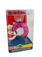 The Simpsons Homer Pink Donut Christmas Ornament by Kurt Adler 2008
