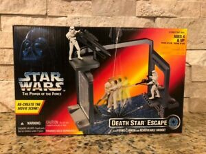 Star Wars Power of the Force Death Star Escape Kenner 1996 NEW Sealed In Box!!