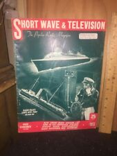 Shortwave And Television Magazine September 1938 Issue