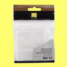 Genuine Nikon BM-12 LCD Monitor Cover Screen Protector for D800 D800E D810 D810A