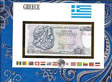 E Banknotes of All Nations Greece 1978  50 Drachmai P199a UNC prefix 14Z