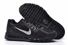 Nike Air Max + 2013 Running Shoe size 7.5 554886-001 Mens Black/Dark Grey