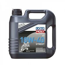 4 litres huile moteur moto LIQUI MOLY 10W40 STREET - Streetmotorbike
