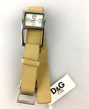 Reloj D&g Time Cuarzo Mujer New Old Stock Pulsera Fashion Piel Nuevo