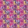 Disney Princesses Allover Princess 67828 100% Cotton fabric by the yard